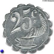 25 Centimes - Brulerie du Kursaal - Mazamet [81] – revers