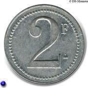 2 Francs  - Ch. Petit - Paris [75] – revers