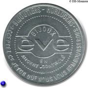 2 Francs - Bijoux Eve - Paris [75] – avers