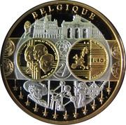 """Médaille Première Frappe """" Belgique"""" – avers"""