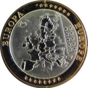 """Médaille Première Frappe """" Belgique"""" – revers"""