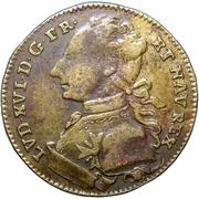 Jeton Louis XVI – avers