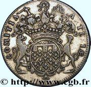 Jeton Louis XV - États d'Artois - COMITIA ARTESIAE – revers