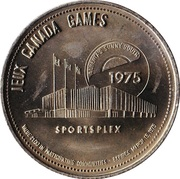 Southern Alberta Jeux Canada Games Trade Dollar – revers