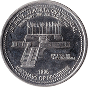 St. Paul, Alberta - Trade Two Dollars – avers