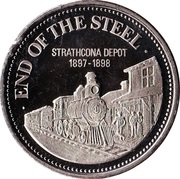 1 dollar END OF THE STEEL 1975 – avers
