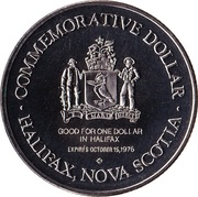 Halifax, Nova Scotia - Commemorative Dollar – revers