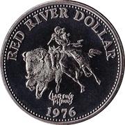 1 dollar WINNIPEG 1976 – avers