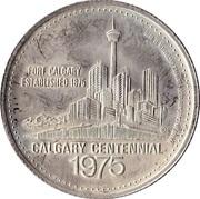 1 dollar CALGARY STAMPEDE 1975 – revers