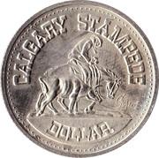 1 dollar CALGARY STAMPEDE 1975 – avers