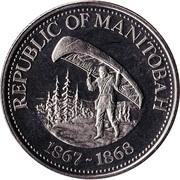 1 dollar MANITOBA 1976 – avers