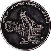 Fort McMurray, Alberta - Centennial Medallion – avers