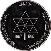 Fort Saskatchewan, Alberta - Commemorative Medallion – revers