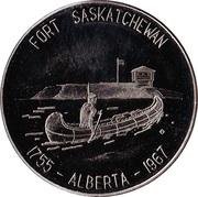 Fort Saskatchewan, Alberta - Commemorative Medallion – avers