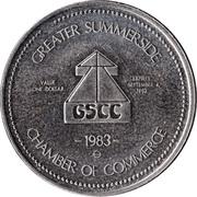 Summerside, Prince Edward Island - Abegweit Dollar – revers