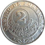Casino Pornichet (44) - 2 francs – revers