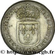 Jeton de Nuremberg Louis XIV – revers