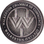 Walkerton, Ontario - International Plowing Match Medallion – avers