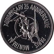 Air Canada - Inaugural Flight Medallion – avers