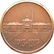 Saskatchewan Hospital 60th anniversary Medal – revers