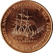 Vancouver, British Columbia - Trade Dollar – avers