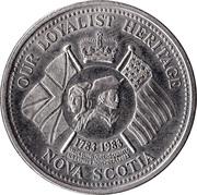 Queens County, Nova Scotia - Trade Dollar – revers