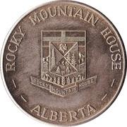 Rocky Mountain House, Alberta - Centennial Medallion – revers