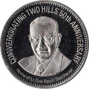 Two Hills, Alberta - 50th Anniversary Medallion – avers