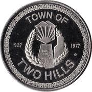 Two Hills, Alberta - 50th Anniversary Medallion – revers