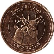 Barrhead, Alberta - Two Bucks – revers
