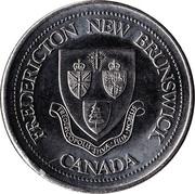 Fredericton, New Brunswick - Trade Dollar – avers