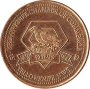Yellowknife, North-West Territories - Trade Two Dollars – avers