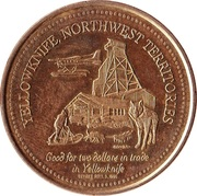 Yellowknife, North-West Territories - Trade Two Dollars – revers