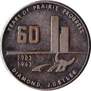 Canada (Saskatchewan) Praire Progress Medal – avers