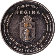 Canada (Saskatchewan) Praire Progress Medal – revers