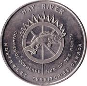 Hay River, Northwest Territories - Trade Dollar – avers