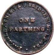 1 Farthing - Ireland, Belfast (John Arnott & Co.) – revers