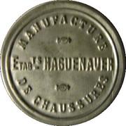 5 centimes -  manufacture Haguenauer -  avers