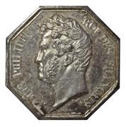 Agents de change bourse de Paris - Louis Philippe I – avers