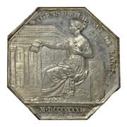 Agents de change bourse de Paris - Louis Philippe I – revers