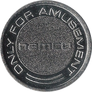 Namco Only for Amusement Token – avers