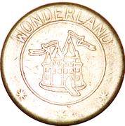 Wonderland Token (Castle) – avers