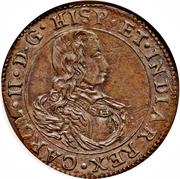 Bureau des finances Brabant (Anvers) - Charles II – avers