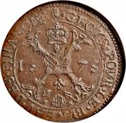 Bureau des finances Brabant (Anvers) - Charles II – revers