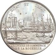 Jeton de présence - Chambre de commerce de La Rochelle – avers