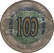 Casino de Niederbronn-Les-Bains (67) - 100 francs – avers
