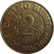 Casino Ruhl Nice (06) - 2 francs – avers