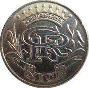 Casino Ruhl Nice (06) - 5 francs – revers