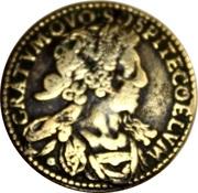 Louis XIII Le Juste Cu 27 – avers