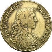 Jeton Bâtiments du Roi 1663 – avers